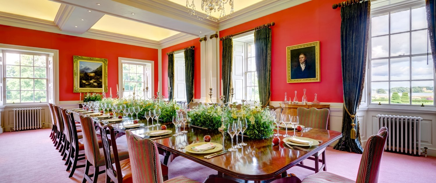 Dining room at Kinross House