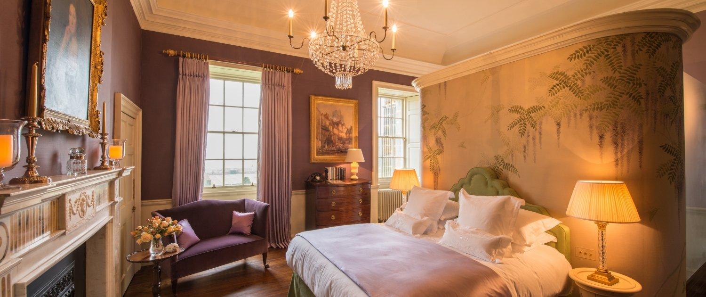 Kinross House bedroom