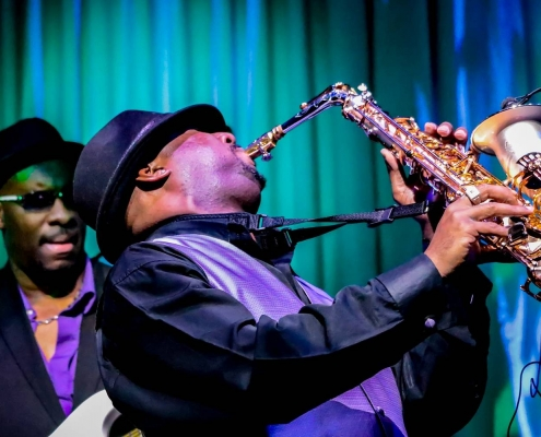 Jazz performers with Sax