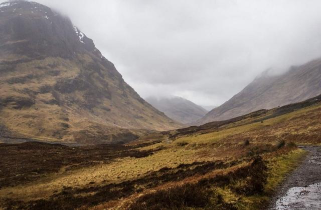 Scotland Highlands in Autumn
